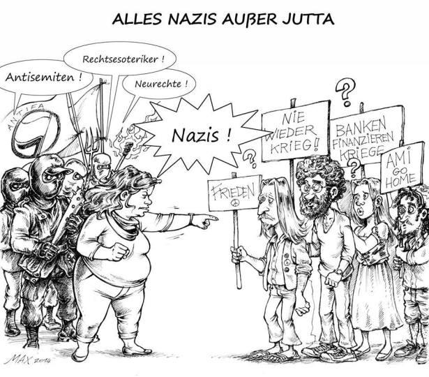 alles nazis ausser jutta